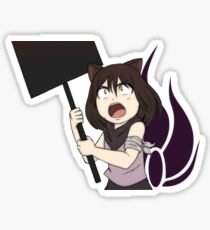 Young Blake Belladonna & Emblem Sticker