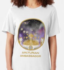 Arcturian Ambassador - Starseed Slim Fit T-Shirt