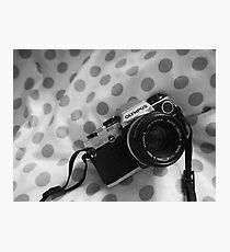 Olympus OM10  Photographic Print