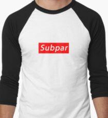 SUBPAR  Men's Baseball ¾ T-Shirt