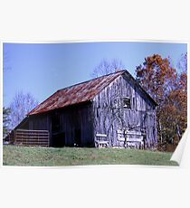 Rusty Old Barn Poster