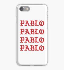 PABLO PABLO PABLO PABLO iPhone Case/Skin