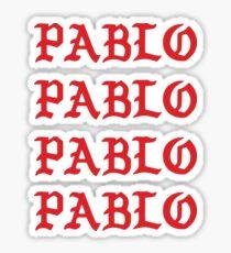 PABLO PABLO PABLO PABLO Sticker