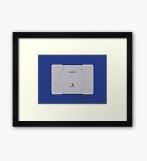 Material PlayStation Framed Print