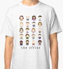 Camiseta clásica Los personajes de dibujos animados de Office