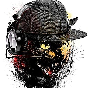 Dj Kitten by moncheng