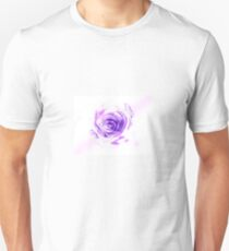 The Softened Paper Trips Rose T-Shirt
