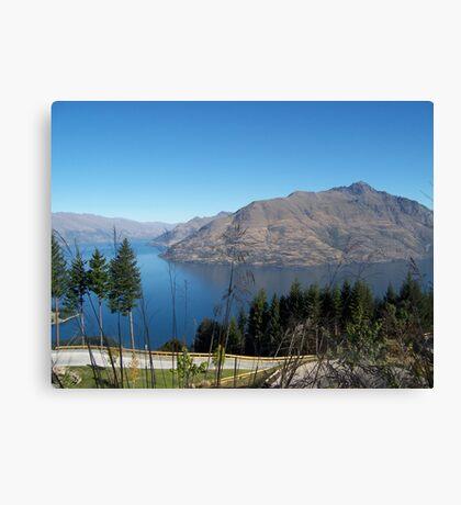 New Zealand in all its splendor. Canvas Print
