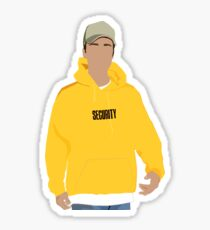 Justin Bieber Security Hoodie Sticker