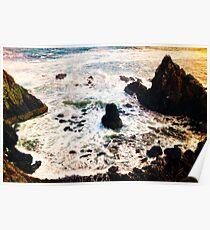 Newport Oregon - Ocean Breeze Poster