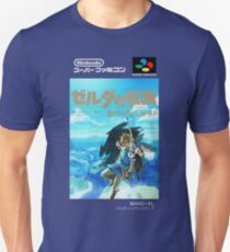 The Legend of Zelda : Breath of the Wild - Super Famicom box art T-Shirt