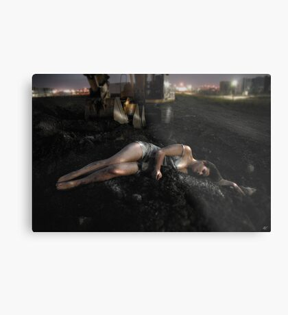 The Quiet Earth Metal Print