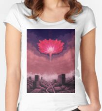 Flower of Singularity Women's Fitted Scoop T-Shirt