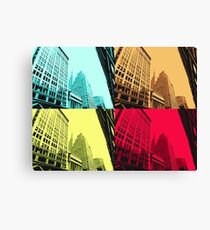 Warhol Meets ESB Canvas Print