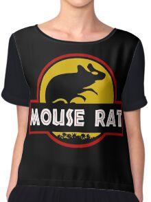 Jurassic Mouse Rat Chiffon Top