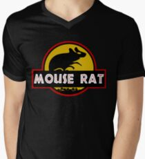 Jurassic Mouse Rat Men's V-Neck T-Shirt