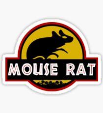 Jurassic Mouse Rat Sticker