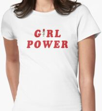 GIRL POWER Women's Fitted T-Shirt