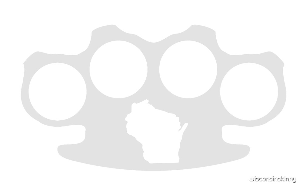 Wisconsin Skinny knuckle up by wisconsinskinny