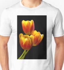 Tulip Trio - Heat Wave Unisex T-Shirt