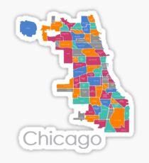 Midtone Chicago Sticker
