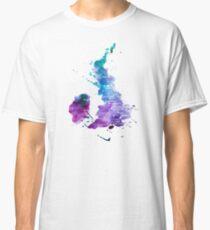 UK map in Watercolours Classic T-Shirt