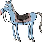 A horse by dagove