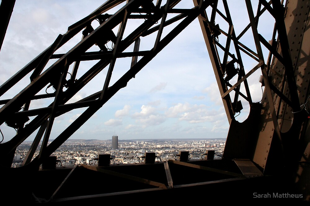 View from Eiffel Tower by Sarah Matthews