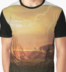 Dinosaur Valley Thunderstorm Graphic T-Shirt