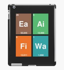 Periodic Table of Classical Elements iPad Case/Skin