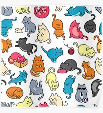 MEOW, COOL CATS! Poster