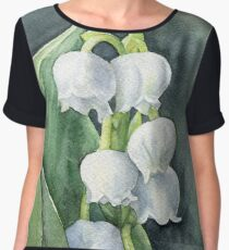 Lily of the valley Women's Chiffon Top