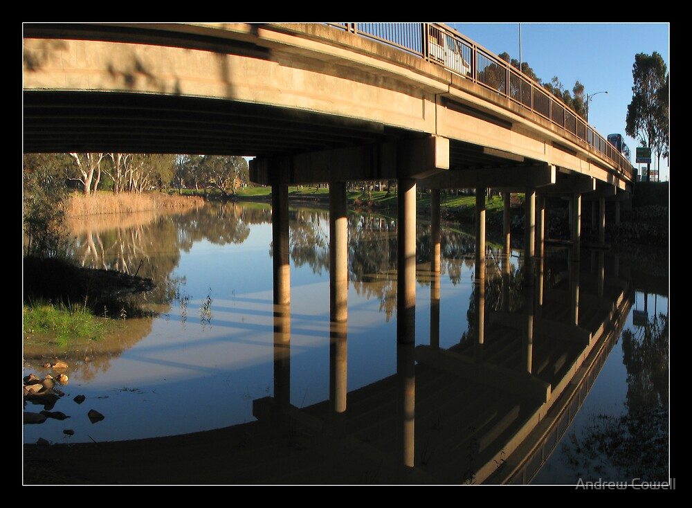 wimmera bridge by Andrew Cowell