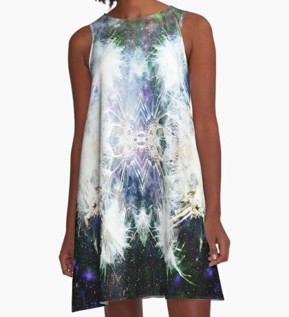 Magical Dandelion Moments A-Line Dress