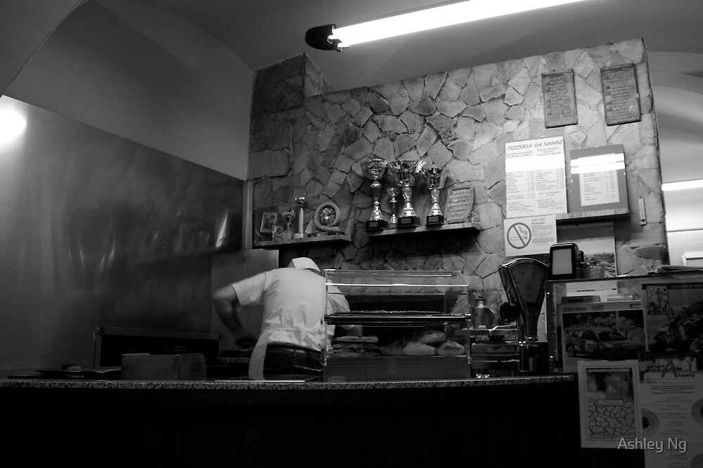 Anyone for Pizza? by Ashley Ng