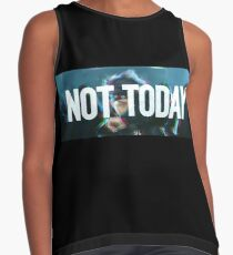 Not Today (Glitch White) - Bangtan BTS Contrast Tank