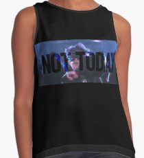 Not Today (Glitch Black) - Bangtan BTS  Contrast Tank