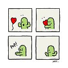 The Lonely Cactus' Valentine's Day by Bill Kuchman