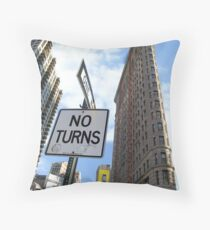 The Flatiron Building Throw Pillow