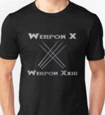 Weapon X & Weapon XxIII T-Shirt