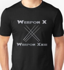 Weapon X & Weapon XxIII Unisex T-Shirt