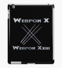 Weapon X & Weapon XxIII iPad Case/Skin
