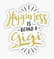 Happy Gigi Sticker