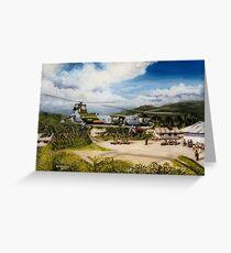 66 Sqdn Belverdere Greeting Card