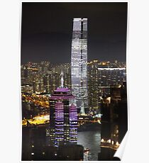 Night on the City IV - Hong Kong. Poster