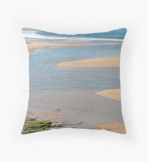 river mouth in oz Throw Pillow