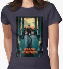 Blade Runner Poster Womens Fitted T-Shirt