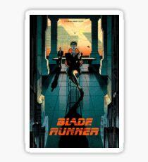 Blade Runner Poster Sticker