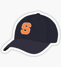 Syracuse baseball hat Sticker