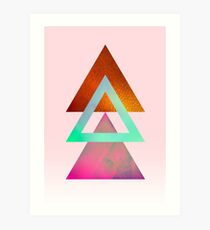 Triangles, 1 Art Print